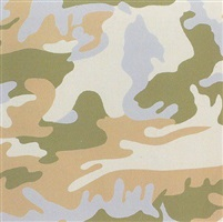 camouflage [ii.407] by andy warhol